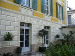 facade en trompe l 39 oeil nantes par fran ois roux. Black Bedroom Furniture Sets. Home Design Ideas