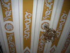 plafond peint romantique par fran ois roux. Black Bedroom Furniture Sets. Home Design Ideas