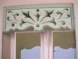 fa ade peinte par fran ois roux. Black Bedroom Furniture Sets. Home Design Ideas