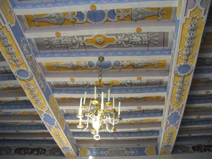 Deux poutres peintes par fran ois roux for Poutres peintes